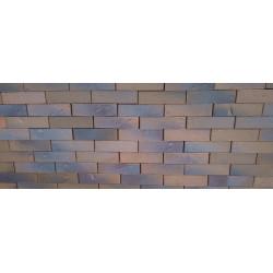Клинкерный кирпич керамейя рустика Гранат 6