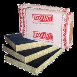 Базальтовый утеплитель Izovat 80 FG (Изоват) для вентилируемого фасада