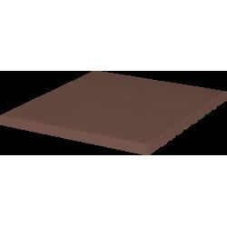 Напольная плитка (03) Клинкерная плитка напольная Коричневый 150x245x12