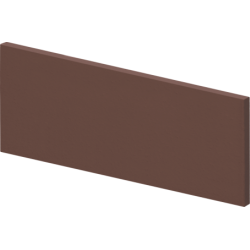 Клинкерные ступени (03) Плитка/подступень Коричневая 150x330x12