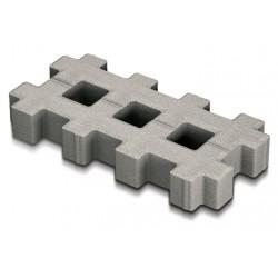 Решетка 40-20-8 серый